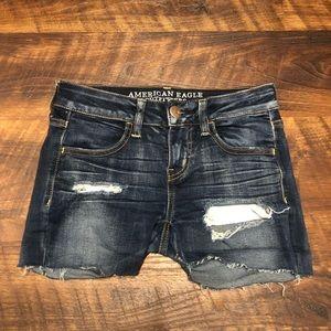 American Eagle Boyfriend Denim Shorts Size 2